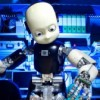 Humanoid robots go on show