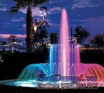 Thiết kế hồ phun nước, vòi phun nước nghệ thuật, hệ thống nhạc nước