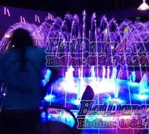 Đài phun nước nghệ thuật, nhạc nước Bookafe Quy Nhơn
