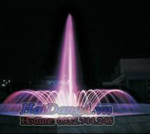 Thiết kế thi công lắp đặt đài phun nước, nhạc nước
