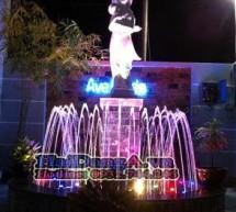 Đài phun nước nghệ thuật, nhạc nước đẹp, đèn led âm nước