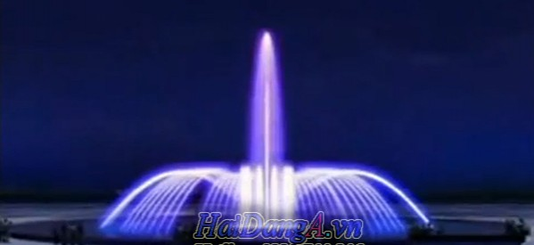 Mô hình đài phun nước nghệ thuật