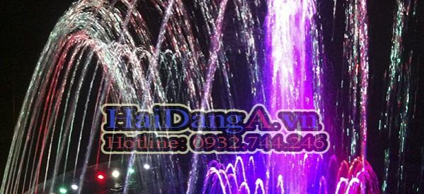 Đài phun nước nghệ thuật, nhạc nước khách sạn Melody Đà Lạt
