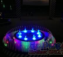 Thiết kế, thi công lắp đặt nhạc nước, đài phun nước nghệ thuật tại Phụng Hoàng – An Giang (phần 4)