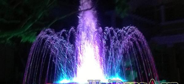 Nhạc nước tại trung tâm Phụng Hoàng An Giang