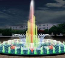 Mẫu mô hình đài phun nước nghệ thuật
