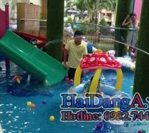 Trò chơi dưới nước tại khu vui chơi trẻ em Maika Wonderland