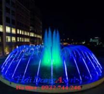 Mẫu đài phun nước nghệ thuật