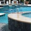 Hình ảnh đài phun nước nghệ cho hồ bơi