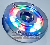 Hình ảnh mẫu đèn âm nước đổi màu tự động