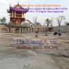 Thi công lắp đặt công trình đài phun nước chùa Ba Vàng