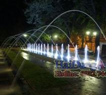 Sàn phun nước nghệ thuật tại Ba Lan