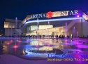 Sàn phun nước tại trung tâm thương mại Arena