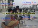 Hình ảnh thi công lắp đặt nhạc nước tại Times City Hà Nội