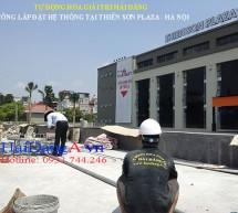 Hệ thống đài phun nước Thiên Sơn Plaza – Hà Nội