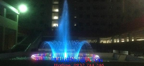Đài phun nước chung cư Bình Khánh, Quận 2, TPHCM