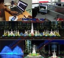 Công ty chuyên thiết kế thi công nhạc nước, đài phun nước