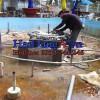 Đài phun nước nghệ thuật ở Bạc Liêu