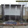 Hình ảnh thi công lắp đặt đài phun nước phun theo nhạc tại Văn Phú