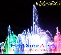 Đài phun nước trung tâm thương mại giải trí Cana Tây Ninh