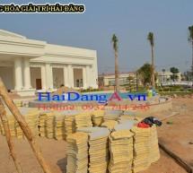 Thi công đài phun nước trung tâm Cana Hòa Thành – Tây Ninh