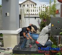Công trình đài phun nước sân vườn chị Thủy Quận 9