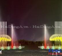 Hình ảnh thiết kế nhạc nước và đài phun nước 3D