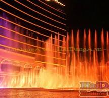 Thiết kế nhạc nước đài phun nước tại Thành Phố Vinh