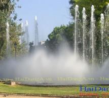 Máy phun sương nghệ thuật cho hồ nước