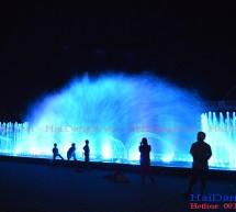 Nhạc nước Khu du lịch Sông Hậu Cần Thơ