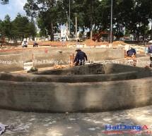 Đài phun nước quảng trường tỉnh Đồng Nai