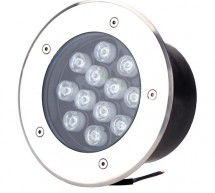 Đèn LED âm sàn HDUG-12W chiếu sáng ngoài trời