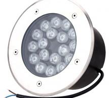Đèn LED âm sàn, hắt âm đất 18W