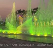 Công ty Hải Đăng tự hào là đơn vị thi công đài phun nước âm sàn tại quảng trường Hà  Tĩnh