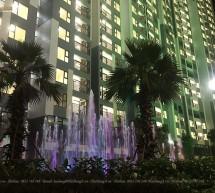 Hệ thống phun nước giải trí tại chung cư Imperia Sky Garden Hà Nội