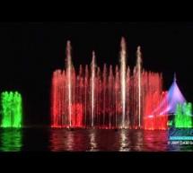 Hệ thống phun nước, nhạc nước quá tuyệt vời tại Thổ Nhĩ Kỳ