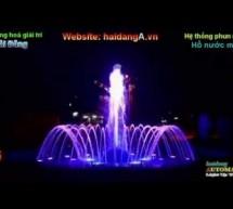 Video đài phun nước hồ tròn độc đáo