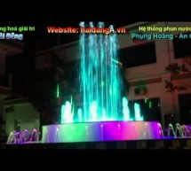 Nhạc nước nghệ thuật tại An Giang