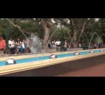 Video quá trình thi công hệ thống phun nước tại Burnham Park