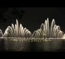 Video nhạc nước, hệ thống phun nước tại Hangzhou, Trung Quốc
