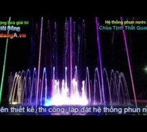 Phun nước nghệ thuật theo nhạc tại Đức Trọng – Lâm Đồng