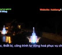 Video đài phun nước nghệ thuật tại Chùa Ba Vàng