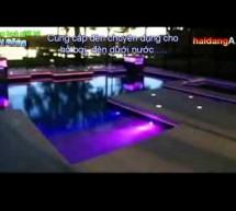 Đèn âm nước hồ bơi, đèn bể bơi đổi màu tự động
