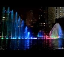 Video nhạc nước, hệ thống phun nước tuyệt đẹp tại KLCC New