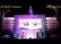 Video nhạc nước đài phun nước nghệ thuật theo nhạc tại Hà Đông, Hà Nội