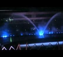 Đài phun nước, nhạc nước cánh chim vẫy tại Manila Ocean Park