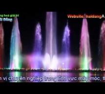 Video hệ thống phun nước theo nhạc