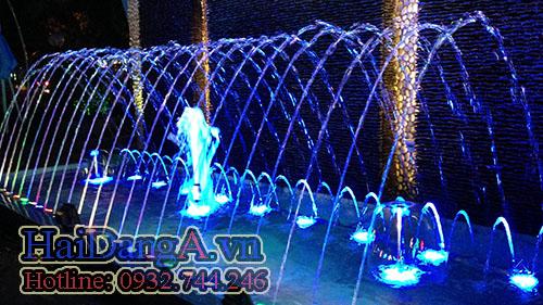 Đầu phun nước hình nấm HDN-M - đầu phun tia nước HDN-S - Đầu phun cột nước sủi bọt HDN - F