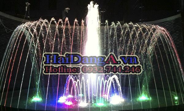 Hệ thống đài phun nước nghệ thuật, nhạc nước tại khách sạn melody đà lạt