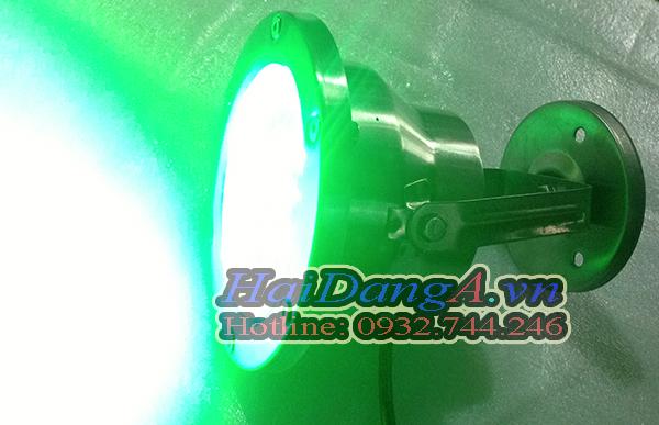 Đèn chiếu sáng dưới nước HD-UW9W màu xanh